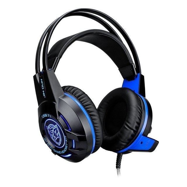 Headset Gamer 7.1 Usb Com Led na internet