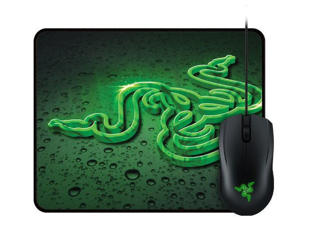 Razer Mouse Abyssus 2000dpi + Mousepad Goliathus Speed Terra - comprar online