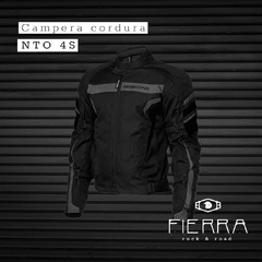 Campera de cordura Nine To One 4S Negra - comprar online