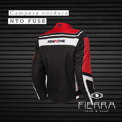 CAMPERA DE CORDURA NINE TO ONE FUSE ROJO - comprar online