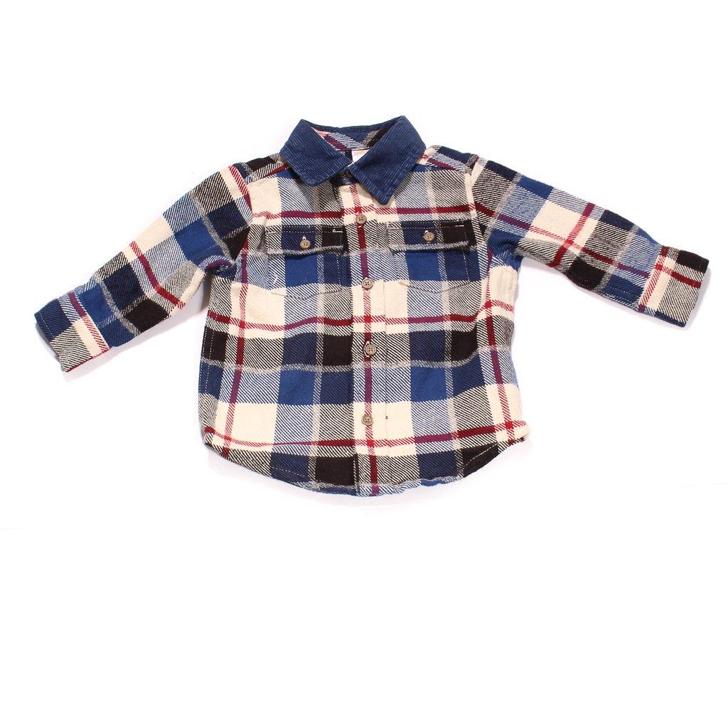 12b833c21ed81 Camisa Leñadora Gymboree Con Etiqueta Para Niño