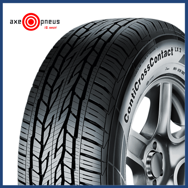 Pneu 195/60 R16 89H - CROSS CONTACT LX - CONTINENTAL na internet