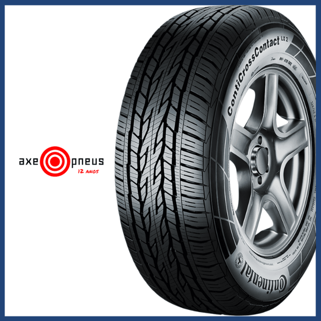 Pneu 195/60 R16 89H - CROSS CONTACT LX - CONTINENTAL - Axe Pneus