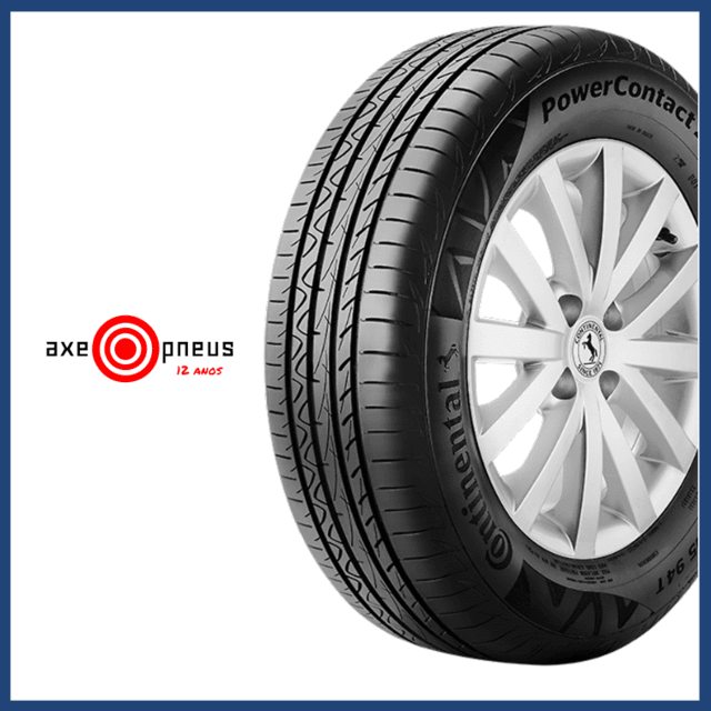 Pneu 195/65 R15 91H - POWER CONTACT - Continental na internet