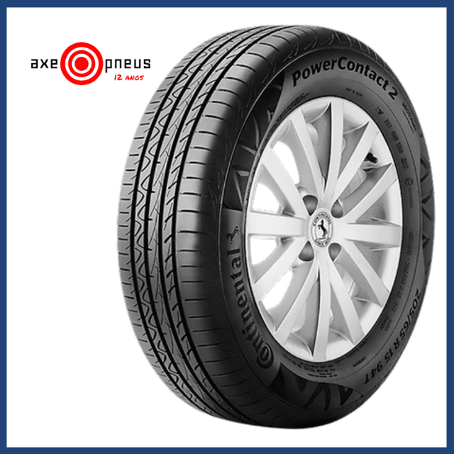 Pneu 195/65 R15 91H - POWER CONTACT - Continental