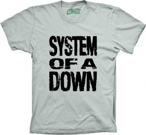 Camiseta System of a Down na internet