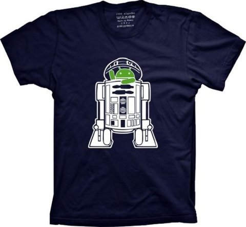 Camiseta Android R2D2 - comprar online