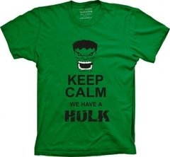 Camiseta Keep Calm Hulk
