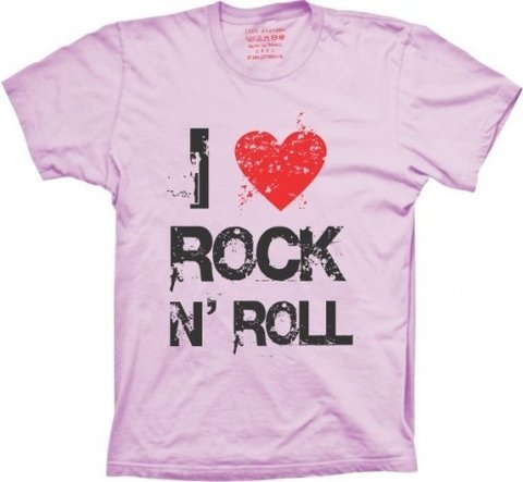 Camiseta I Love Rock N´Roll - comprar online