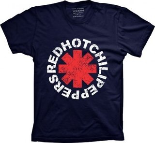 Camiseta Red Hot Chili Peppers - Camisetas Joia