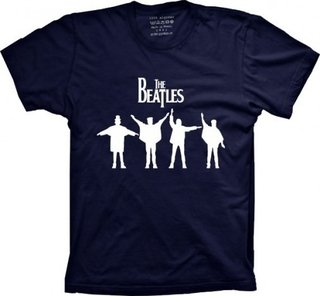 Camiseta The Beatles na internet