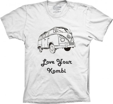 Camiseta Love Your Kombi - Camisetas Joia