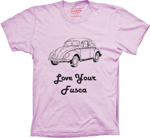 Camiseta Love Your Fusca na internet