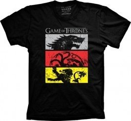 Camiseta Game of Thrones Casas - comprar online