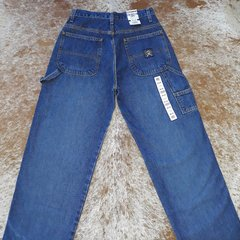 Calça Importada Cinch Carpenter Blue Medium Stone na internet