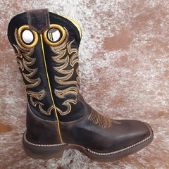 Bota Durango Twister Med Dog/Preto 2010 - Texas Rodeo Store