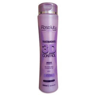 Mousse Sem Enxague 3D Absoluty Color 300ml