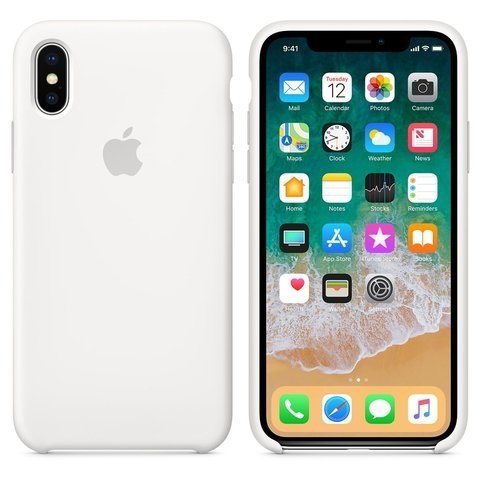 CASE SILICONA IPHONE X - Formosa Online