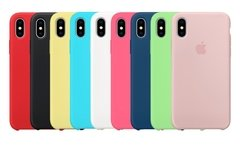 CASE SILICONA IPHONE X
