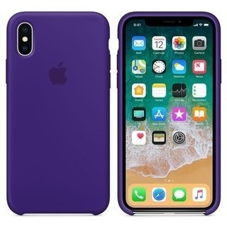 CASE SILICONA IPHONE X - comprar online