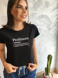 T-SHIRT PROFESSORA