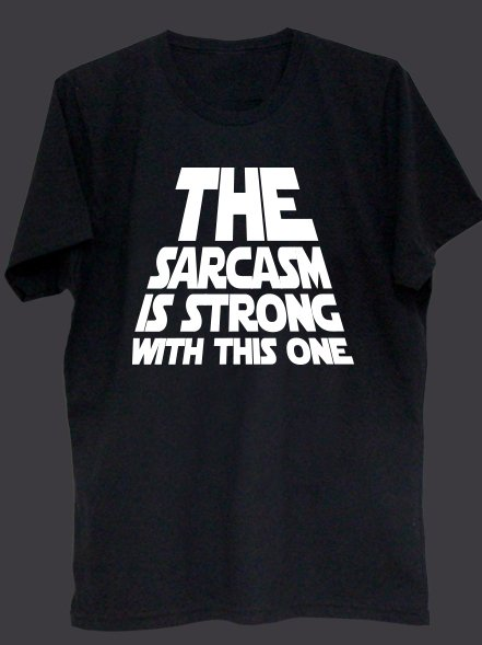 THE SARCASM IS STRONG - comprar online