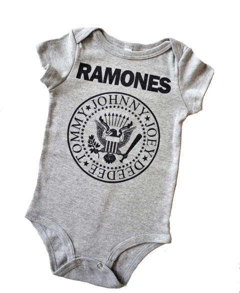 Body Ramones Cinza na internet