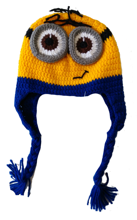 Touca Minion na internet