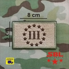 Patch three percenters 3% - comprar online