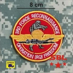 Patch 3rd Force Reconnaissance, Operation Iraqi Freedom - comprar online