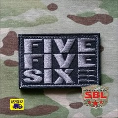 "Funny Patch ""Five Five Sixe"" 556"