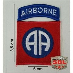 Patch 82th Airborne Division color - MILITARIA SBL