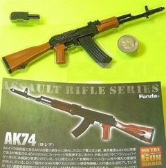 Miniatura Rifle De Assalto AK-47 Escala 1/6