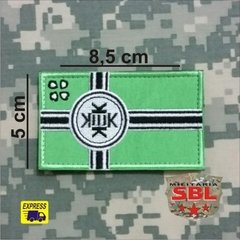 Funny Patch Bandeira Viking na internet