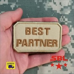 Funny Patch Best Partner - MILITARIA SBL