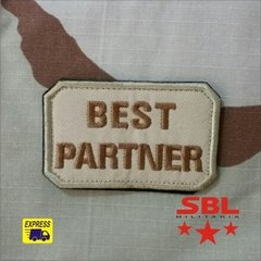 Funny Patch Best Partner