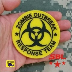 "Patch Emborrachado ""Zombie Outbreak Response Team"" na internet"