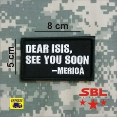 Funny Patch Dear ISIS - comprar online