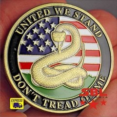 Moeda Don't Tread On Me / Sino da Liberdade na internet