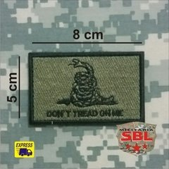 "Imagem do Patch ""Dont Tread on Me"""