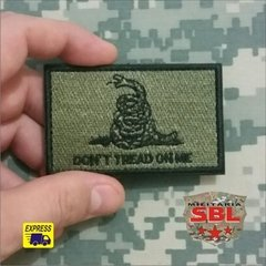 "Patch ""Dont Tread on Me"" - loja online"