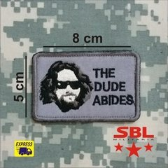 Funny Patch  The Dude Abides - comprar online