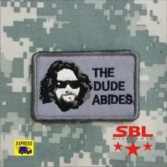 Funny Patch  The Dude Abides