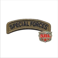 "Lote de Patches Multicam Ás de Espadas ""Especial Forces"" - loja online"