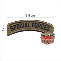 "Imagem do Lote de Patches Multicam Ás de Espadas ""Especial Forces"""