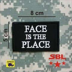 "Funny Patch ""Face is the Place"" - comprar online"