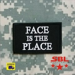 "Funny Patch ""Face is the Place"""