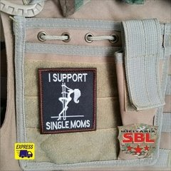 Funny Patch I Support Single Moms Ret - loja online