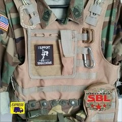 Funny Patch I Support Single Moms Ret - MILITARIA SBL