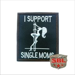 Funny Patch I Support Single Moms Ret - comprar online